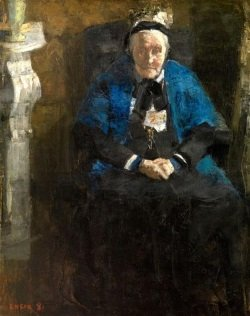 old-lady-with-blue-shawl-the-artist-s-grandmother-1881