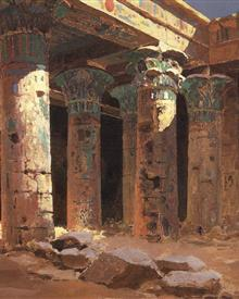 the-temple-of-isis-on-philae-island-1882