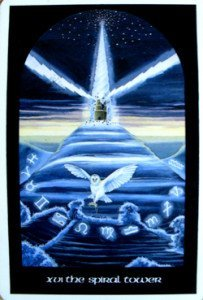 The Tower from the Arthurian Tarot