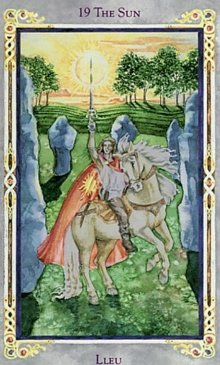 The Sun - Legend Arthurian Tarot