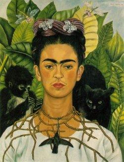 Frida Kahlo - Mars opposite Neptune