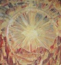 Sun -detail - Konstantin Bogaevsky