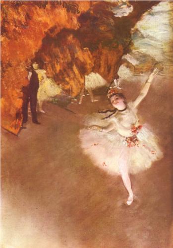 Jupiter in Leo - the-star-dancer-on-stage