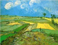 Uranus conjunct MC - Transit - wheat-fields-at-auvers-under-clouded-sky-1890