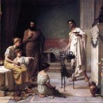 the-visit-of-a-sick-child-to-the-temple-of-aesculapius-1877