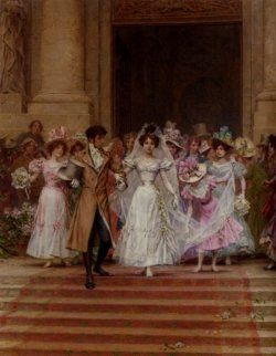 Frederick Hendrik Kaemmerer - The Wedding_ Church Of St_ Roch_ Paris