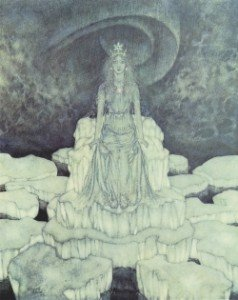 the-snow-queen-on-the-throne-of-ice