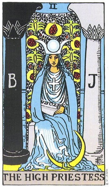 Tarot Card Meanings - The High Priestess | LUA ASTROLOGY
