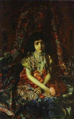 portrait-of-a-girl-against-a-persian-carpet-1886