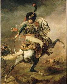officer-of-the-chasseurs-charging-on-horseback