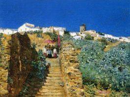 church-procession-spanish-steps
