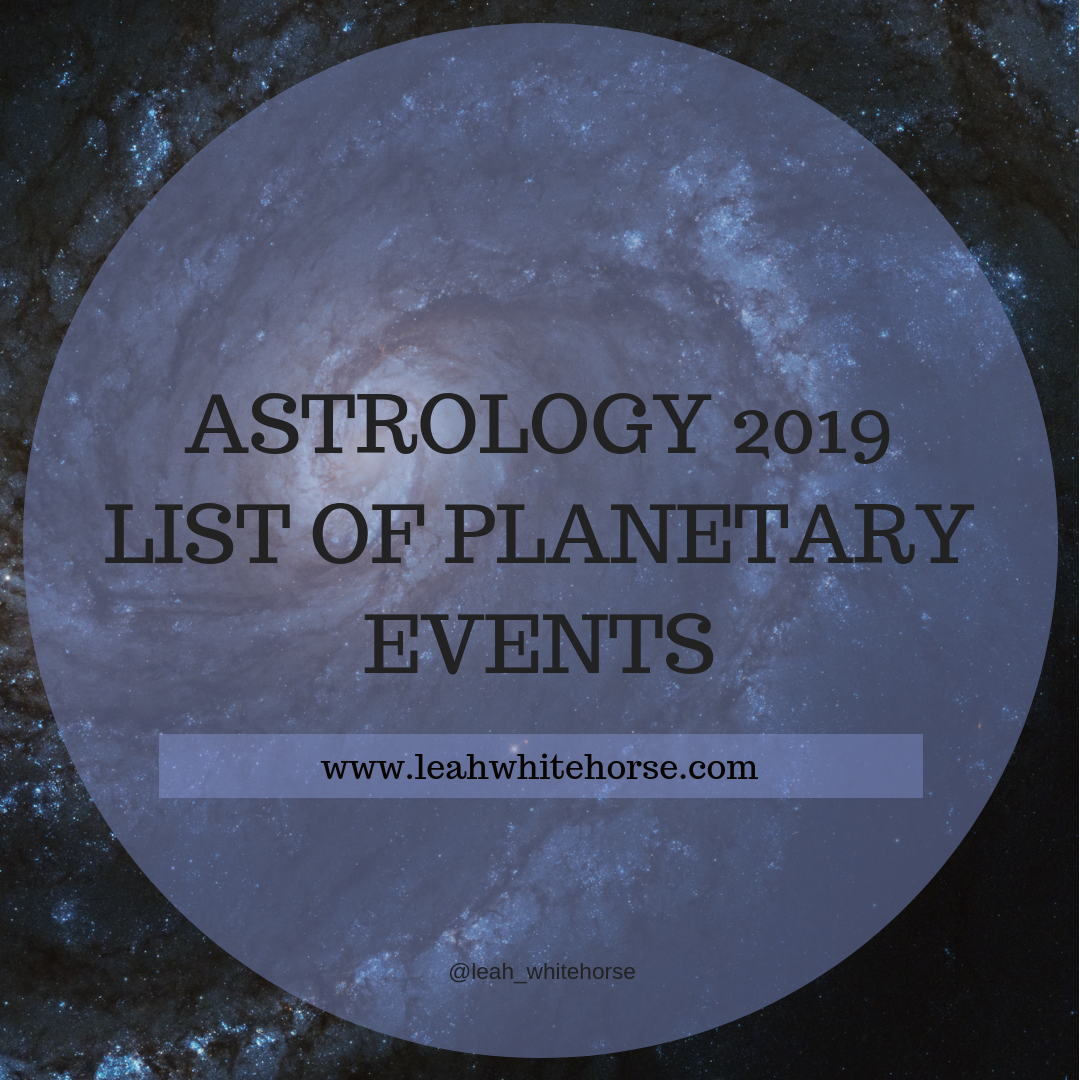 Astrology 2019 | LUA ASTROLOGY
